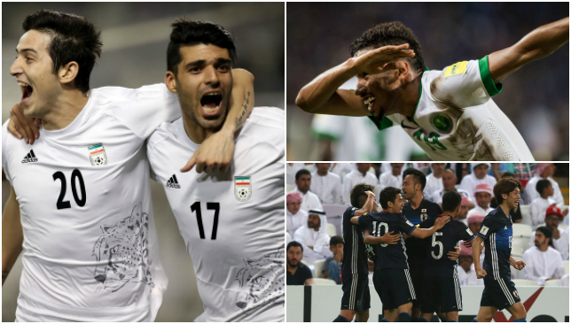 It was a big night for Iran and Saudi Arabia while UAE were left disappointed.