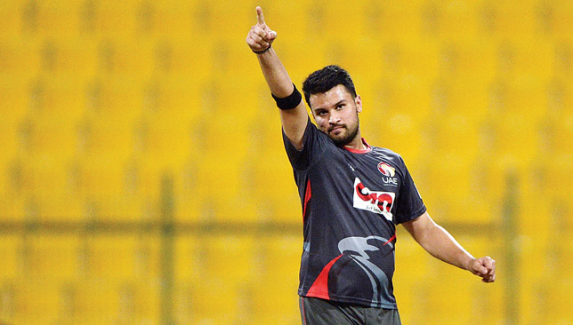 Imran Haider starred for UAE