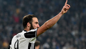 Higuain has been a hit at Juve.