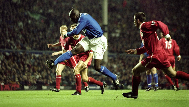 Kevin Campbell's goal 19 years ago was the last time Everton won a Merseyside derby at Anfield.