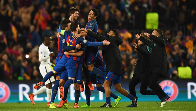 PSG were humiliated 6-1 at Camp Nou as they failed to make a 4-0 aggregate count
