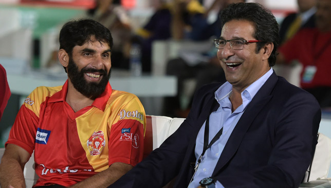 Akram is involved with Islamabad United in the PSL.