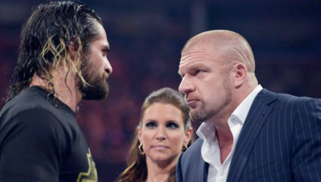 Rollins and Triple H are former partners.