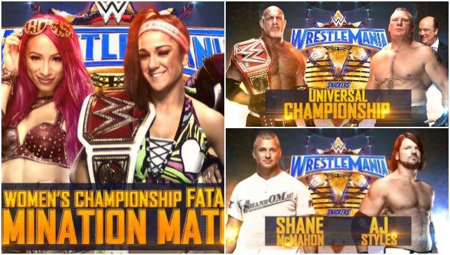 WWE 'WrestleMania 33' Card: SmackDown Women's Championship Match Moved To Main Show