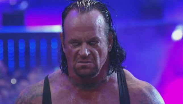 The Undertaker was believed to be in a great deal of pain after RAW.