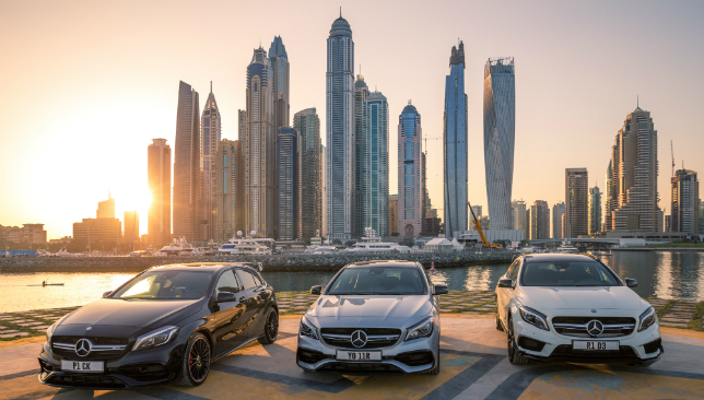 Stunning stunts: The places to be in Dubai.