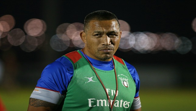 UAE Rugby performance manager Apollo Perelini