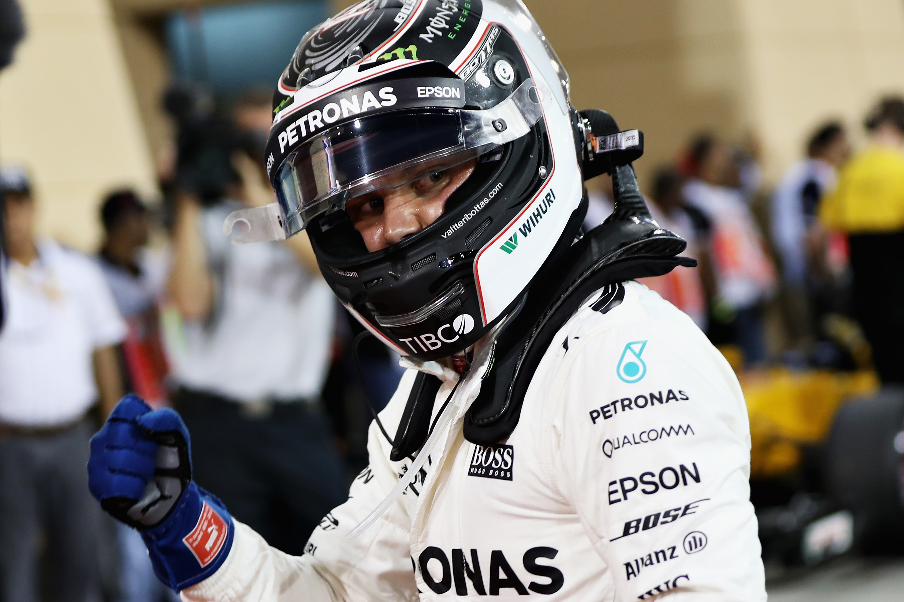Valtteri Bottas Storms To First Career Pole In Bahrain
