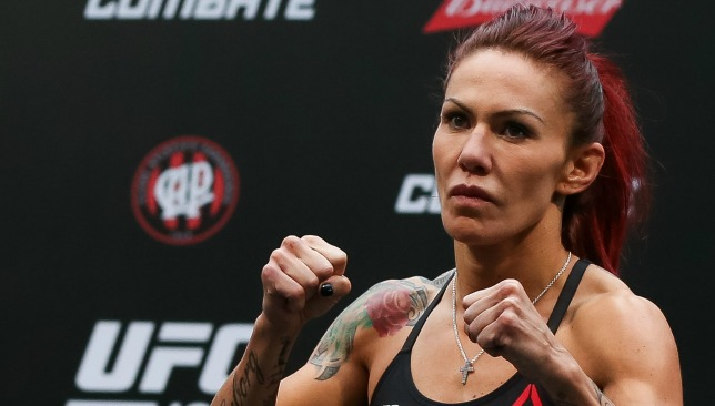 Two out of two: Cyborg has perfect Octagon record.