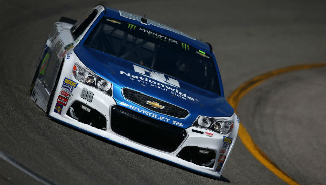 The final sprint to the finish line: Dale Earnhardt Jr will hang up his helmet at the end of the NASCAR season in November.