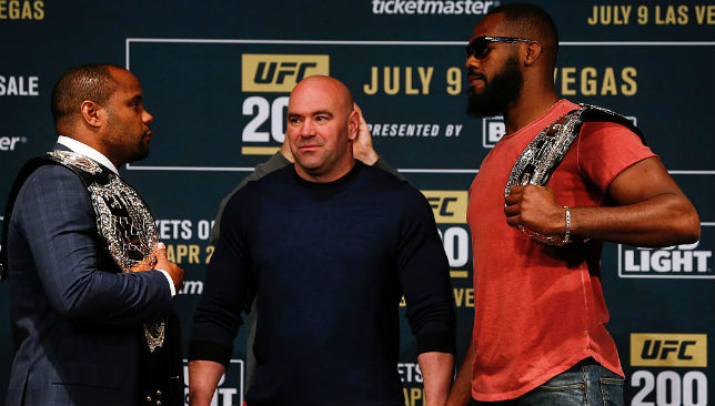 Jones and Cormier were last due to fight at UFC 200 before the former failed a doping test.
