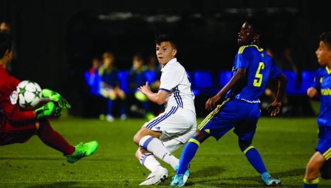 Ones for the future: Real Madrid U13s play Celta Vigo (Chris Whiteoak)