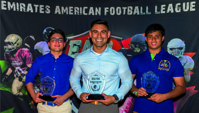 Cream of the crop: (l to r) Kian Sohrabi, Robby Lopez and Anant Singh. Pic by Chris Whiteoak/whiteoakpictures.