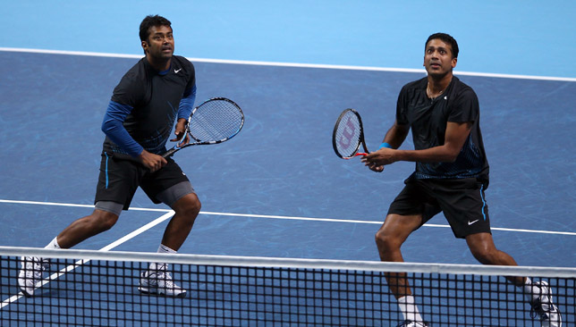 Paes and Bhupathi.