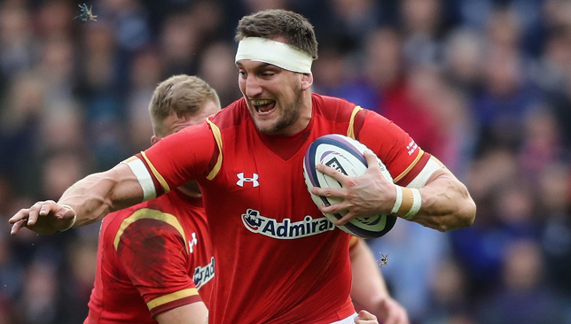 Sam Warburton will captain the side.