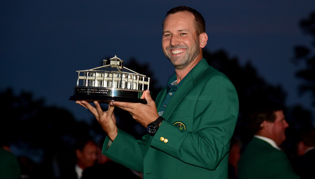 Sergio Garcia missed the cut last year as defending champion.