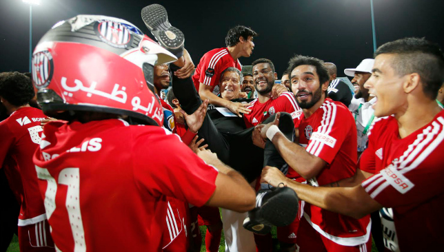A happy night in Hatta for Al Jazira.