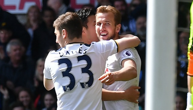 In form: Spurs star Kane.
