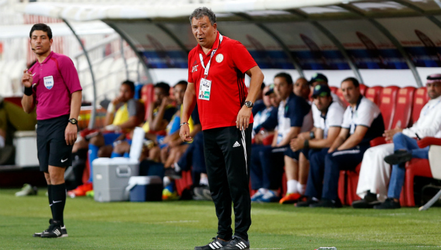 Wanted man: Al Jazira boss Henk ten Cate (Chris Whiteoak)