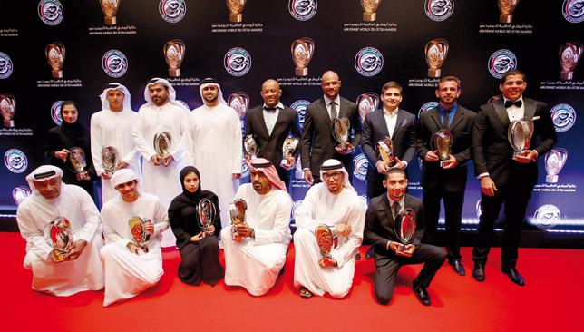 The award winners.