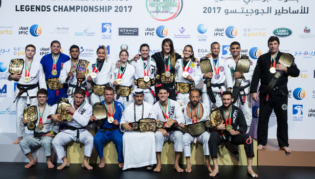 UAE's Yahya Mansour and Jose Junior reign supreme with golds