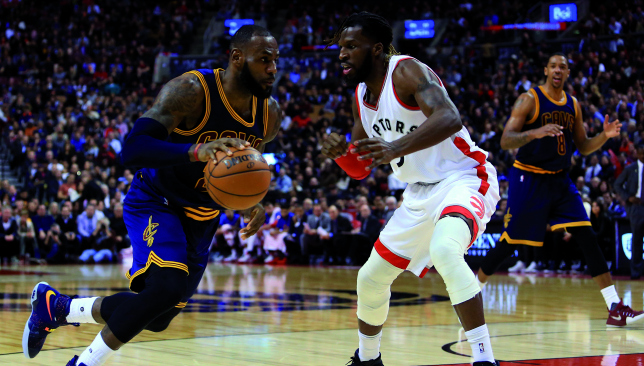 The Toronto Raptors are aiming to get past the defending champions.