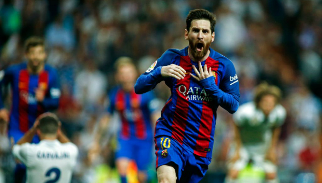 1aec7d18de1 Five times Barcelona legend Lionel Messi put Real Madrid to the ...