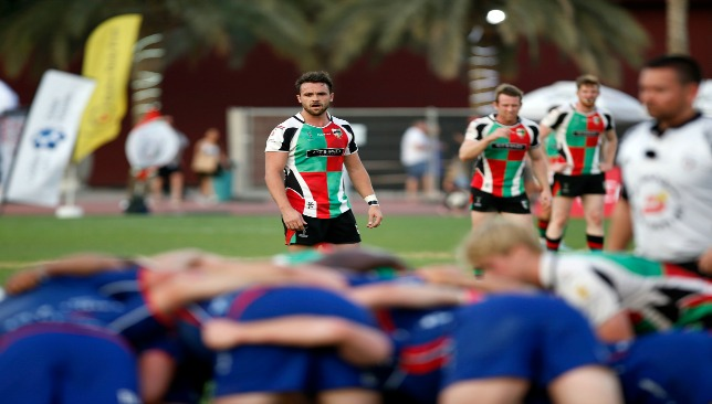 Quins' lynchpin Luke Stevenson is eligible for the UAE this year