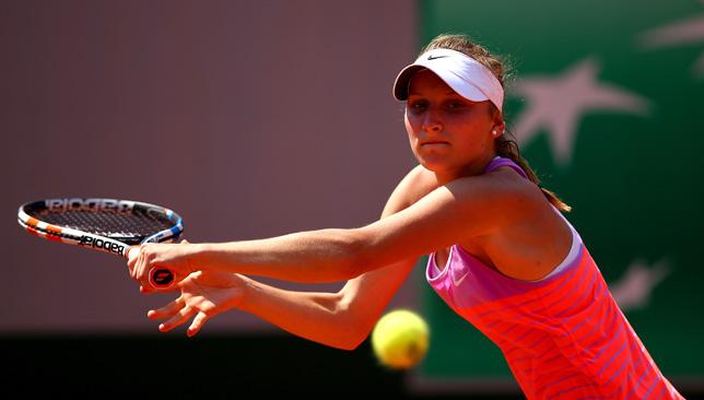 Vonderful victory: Marketa Vondrousova.
