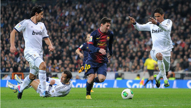 Loves scoring goals at the Bernabeu: Leo Messi