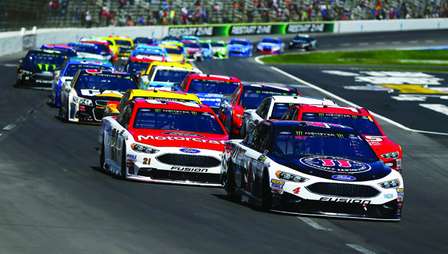 Brave new drive: NASCAR has brought in fresh rules changes to boost interest.