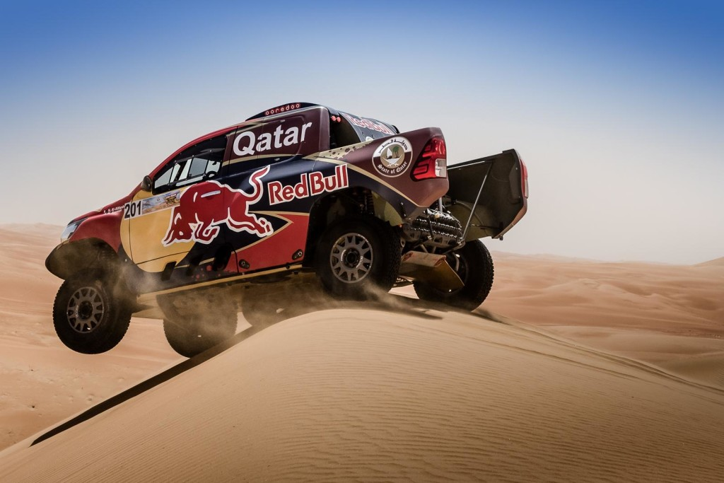 In command: Nasser Al-Attiyah.