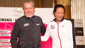 Weekend to forget: Nastase and Keothavong.