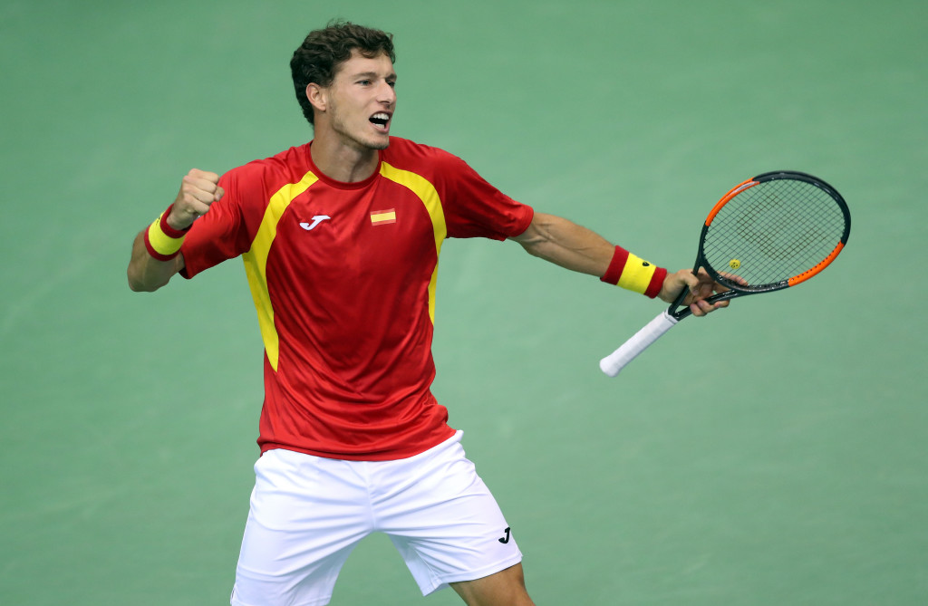 Stepping up: Pablo Carreno Busta