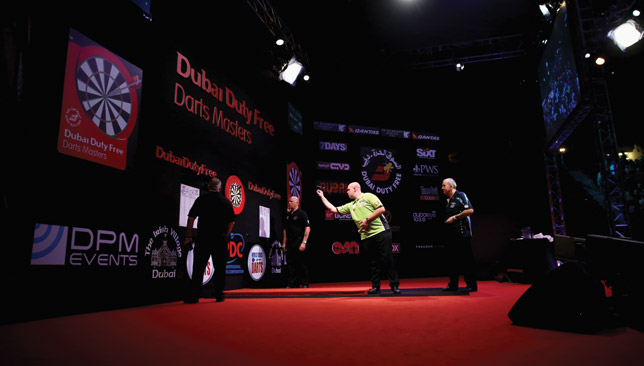 Phil Taylor is playing his last Dubai tournament before retiring in December.