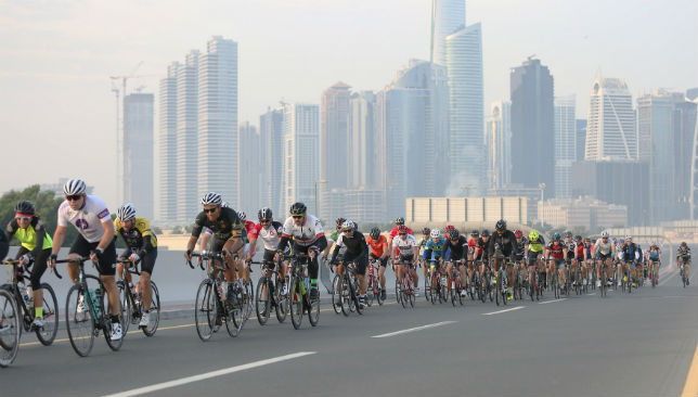 Rolling road closures at the Spinneys Dubai 92 Cycle Challenge
