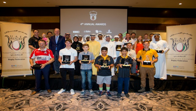 The award winners at Dubai's Metropolitan Hotel