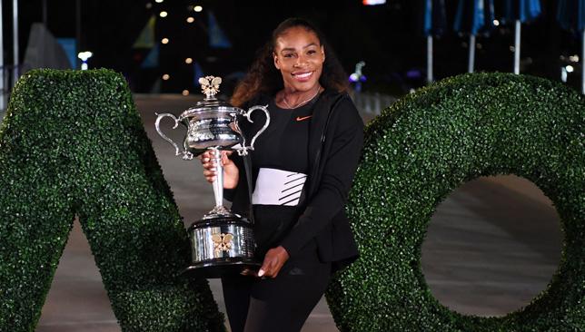 Super mom-to-be: Serena Williams.