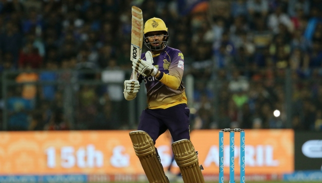 Narine has opened the batting in a couple of matches [Sportzpics]