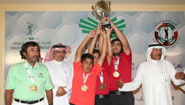 1st place: Gold medals for UAE.