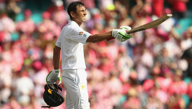 Giving every ounce of himself to the team: Younis Khan