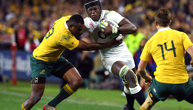 Itoje (c) was immense against Australia last year.