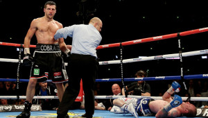 Joshua was on the undercard when Froch beat Groves at Wembley in 2014.