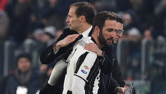 Higuain is central to Juventus' plans.