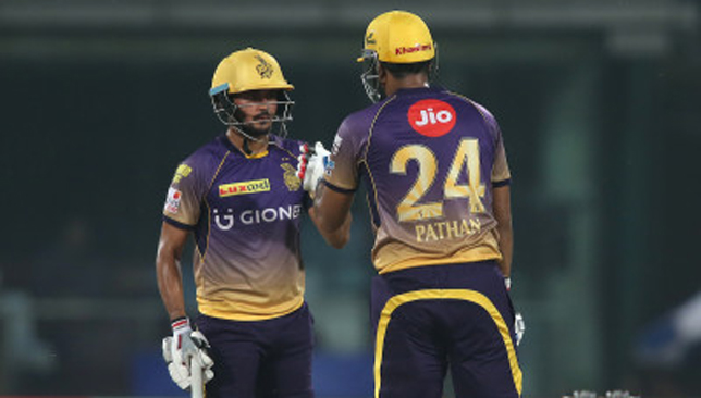 Manish Pandey and Yusuf Pathan.