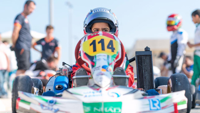 Al Dhaheri secured a dominant win.
