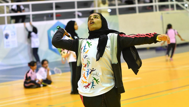 Roudha Saeed Rashed won the U15 tournament.