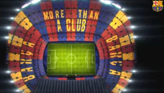 Barcelona Vs Juventus La Liga Giants Reveal Camp Nou