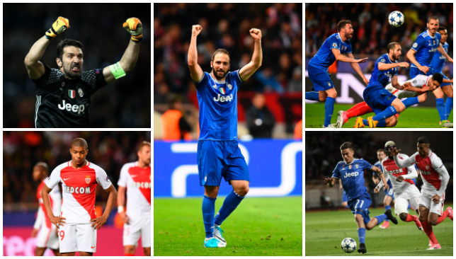 Monaco 0-2 Juventus: Diego Alves & Higuain tame Ligue 1 heavyweights