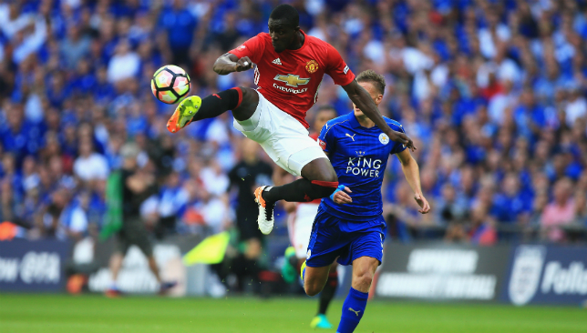 Fine form this season: Bailly.